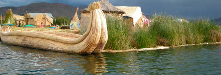 Islands Floating of the Uros, Puno