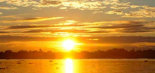 Loreto - Iquitos, amazing sunset