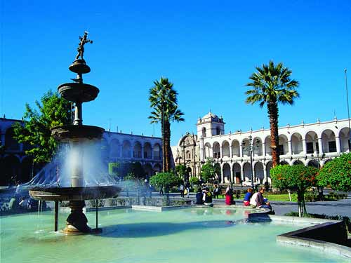 Arequipa white city