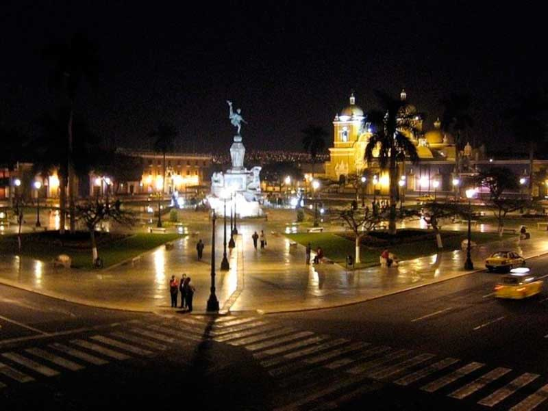 Main square of Trujillo