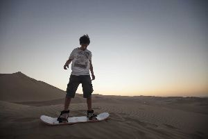 Trans Ica – Sand Boarding